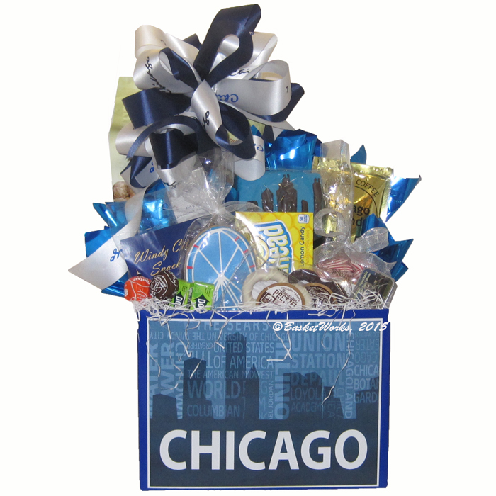Sweet Home Chicago gift package in new gift box!