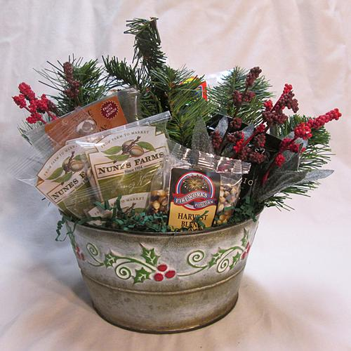 Healthy Holiday Gift Basket