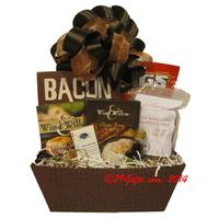 Basketworks chicago gift baskets holiday and baby gift baskets bacon bacon bacon negle Gallery